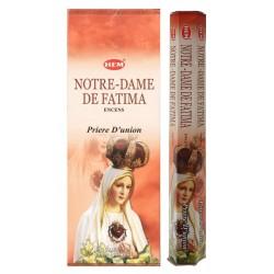Bâtons d'encens - N.D. de Fatima
