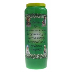 Luminaire 9 Jours / Vert / Parfum De Muguet - Bonheur Neerlandais