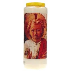 Neuvaine / Blanc / Enfant-Jésus Bénissant