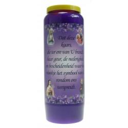 Luminaire 9 Jours / Violet / Parfum De Violette - Humilité Néerlandais
