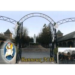 Carte Postale Porte Sainte De Banneux N.D.
