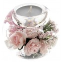 Bougeoir/Chauffe-Plat09 Cm Little Rose
