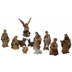 Kerstgroep 9 cm - 11 Figuren