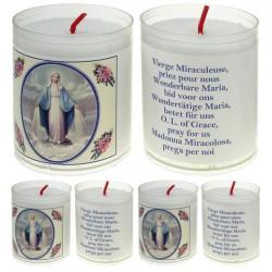 Set De 4 Bougies Miraculeuse - Texte 5 Langues