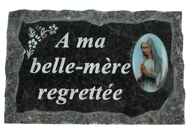 Plaques cimetière